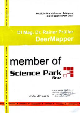 Member of Science Park Graz